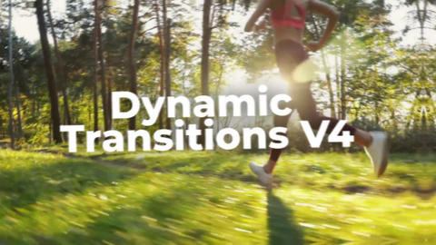 Dynamic Transitions V4 Premiere Proテンプレート