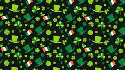 St Patrick's Day Background Animation