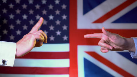 The conflict between the US and the UK Live Action