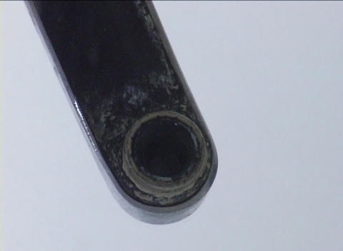 Water from a faucet covers the lens of the camera seen... Stock Video Footage