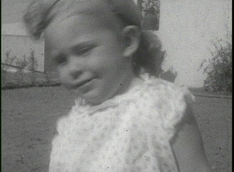 California home movie footage of families in the suburbs... Stock Video Footage