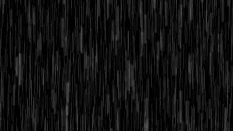Deluge of Rain Water against a Night Sky. with Sound.... Stock Video Footage