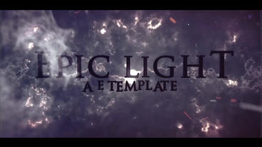 EPIC LIGHT (cinematic trailer) After Effects Project