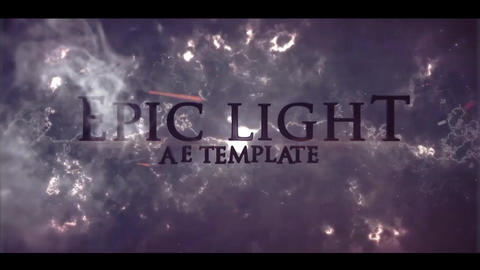 EPIC LIGHT (cinematic trailer) After Effectsテンプレート