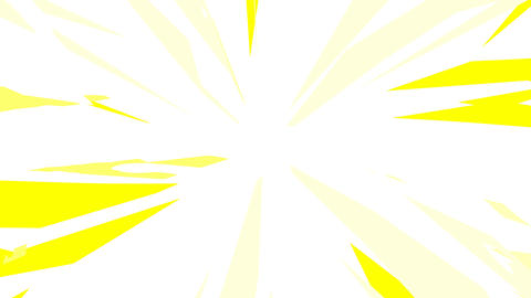 Dynamic Radial Background Yellow Animation