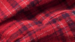 TARTAN TEXTURE EXTREME CLOSE UP STOCK FOOTAGE* Live Action