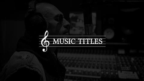 Music Titles After Effects Template