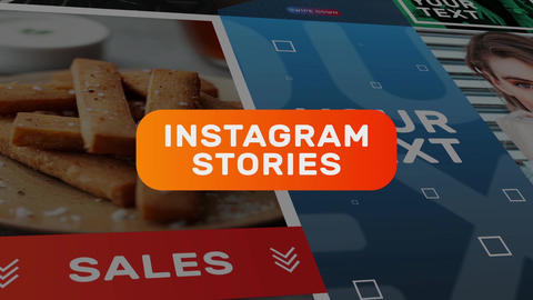Instagram Stories 1 Motion Graphics Template