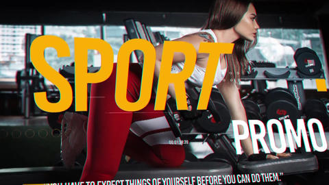 Sport Promo Premiere Proテンプレート