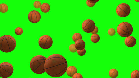 Basket Ball green screen loop animation Animation