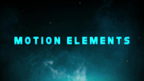 Blue Water Titles After Effects Template