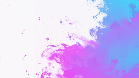 Colorful ink background with place for text Animation