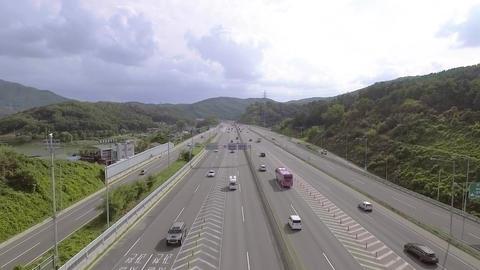 한국의 도로 Footage