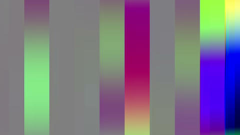 Colored Big Flickering Lines Background Animation
