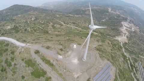 Wind Turbine 2 Footage