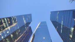 Seoul Yeouido IFC Day to Night Timelapse Footage