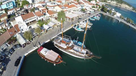 Port of Pythagorio in Samos Island (5) Footage