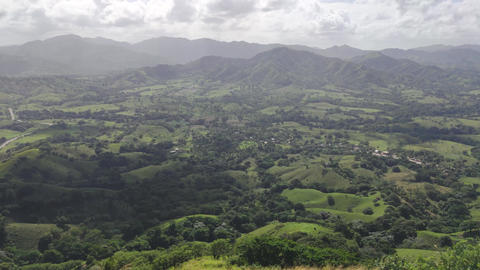 Panorama of Montana Redonda in the Dominican Republic 6 Live Action