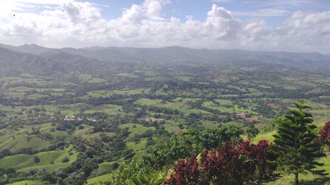 Panorama of Montana Redonda in the Dominican Republic 7 Live Action