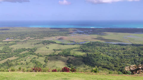 Panorama of Montana Redonda in the Dominican Republic 10 Live Action