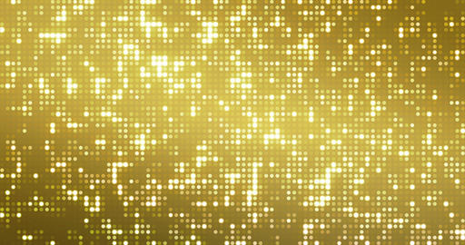 abstract golden reflectors dot glitter and sparkles seamless loop, gold holiday happy new year disco Live Action
