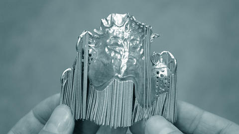 Object printed on metal 3d printer Live Action