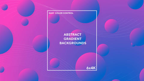 Abstract Gradient Backgrounds After Effects Template