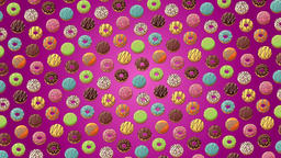 Donuts Background Animation