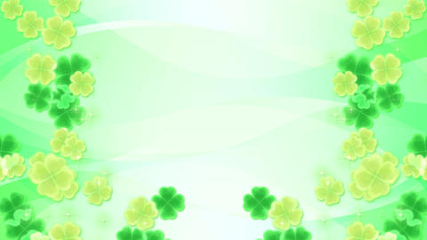 Four Leaf Clover-side-green Animation
