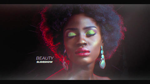 Beauty Slideshow After Effects Template