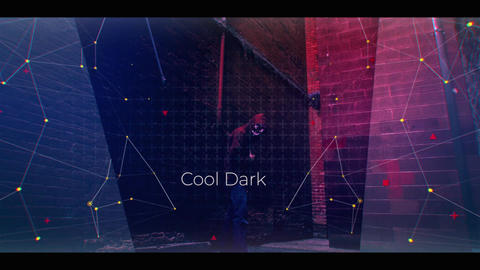 Cool Dark Slideshow After Effects Template