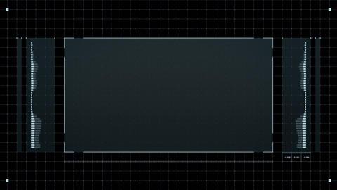 Video Frame HUD Animation
