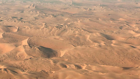 Flight over namibia desert dunes aerial Footage