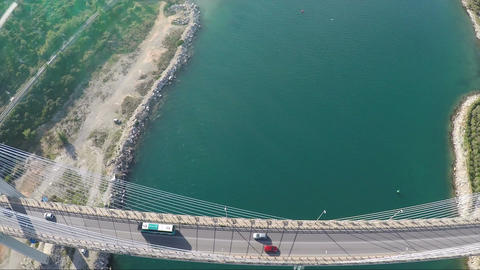 Above Bridge 2 Footage