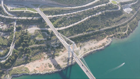 Above Bridge 3 Footage