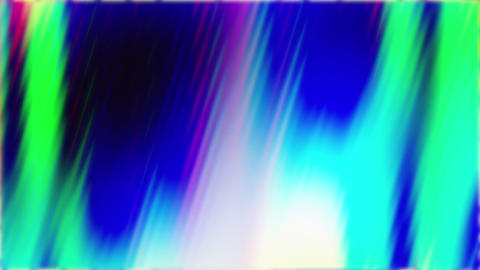 Colored Shiny Wavy Lights Flowing Down Loop Abstract Background Animation