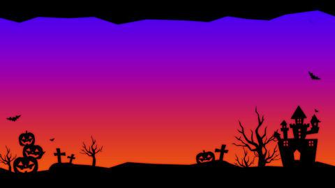 ハロウィン動画素材 ハッピーハロウィン Animation
