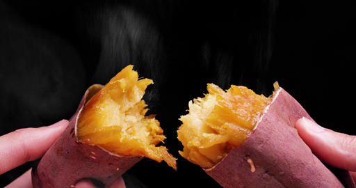 """A food called baked sweet potato. Say """"Yakiimo"""" in Japanese Live Action"""