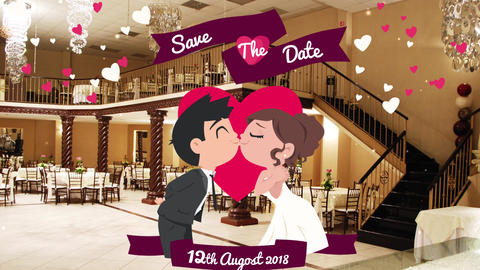 Wedding invetation | reminder After Effects Template