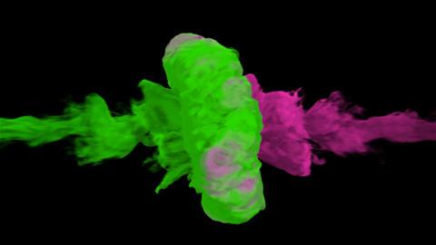 Colorful Smoke Revealer 3 Animation
