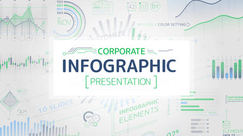 Corporate Infographic Presentation After Effects Template