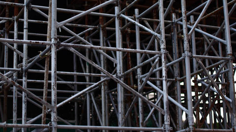 Reconstruction of the building, supporting structures for high-altitude work Live Action