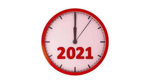 The clock 2021 4k GIF