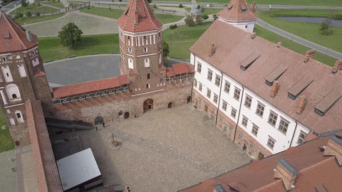 Mir Castle - an architectural masterpiece in the style of Belarusian Gothic Live Action