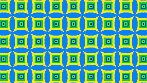 Psychedelic Colorful Flickering Background in Seamless Loop ライブ動画