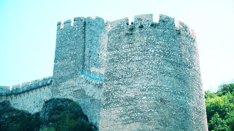 Watchtower from a medieval castle GIF