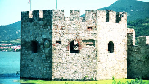 Lookout of a castle from the Middle Ages GIF