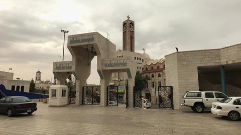 Amman, Jordan - beautiful walls of history King Abdullah Mosque part 16 Live Action