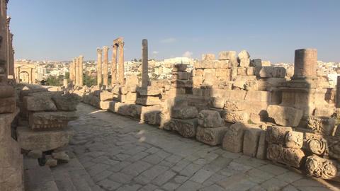 Jerash, Jordan - ancient buildings of ancient civilization part 3 Live Action