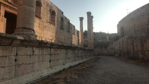 Jerash, Jordan - ruins of an ancient city part 2 Live Action